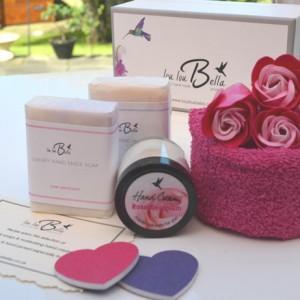 luxury gift box hand cream and soaps