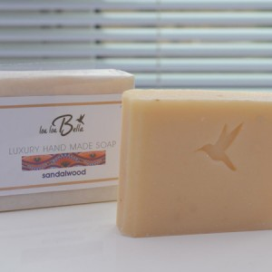 hand made sandalwood soap