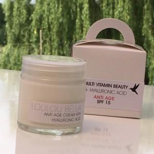 anti aging face cream miracle cream with HA